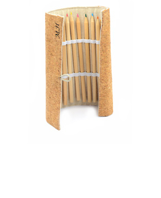 Personalized Cork Eco-Friendly Drawing Pencils