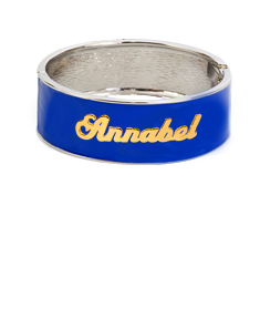 Personalized Enamel Bangle