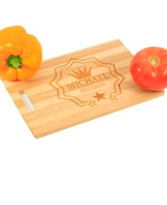 Personalized Stars Cutting Board