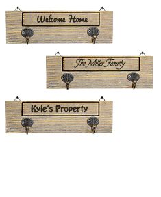 Personalized Wooden Wall Hanger