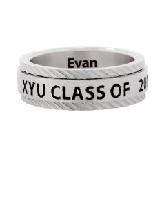 Stainless Steel Class Ring