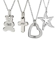 Stainless Steel Shape Necklace