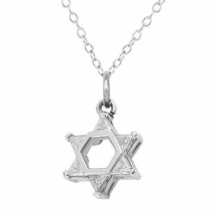 Star of David with Stones