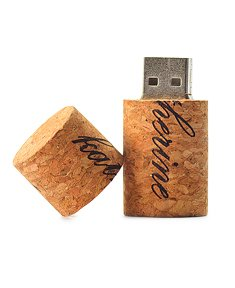 Wooden Cork USB Flash Drive Memory Stick