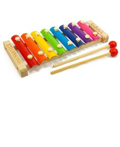 Personalized Wooden Multi-Color Xylophone