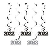 2022 Black and Silver Dizzy Danglers 60 ct