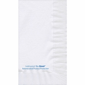 7.5 in x 4.25 in Bio-Shield White Dinner Napkins 1000 ct