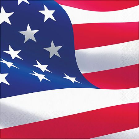 American Flag Luncheon Napkins 192 ct