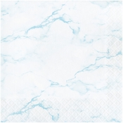 Blue Marble Luncheon Napkins 192 ct