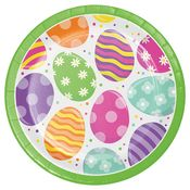 Bright Easter Eggs Dinner Plates 96 ct