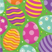 Bright Easter Eggs Luncheon Napkins 192 ct