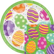 Bright Easter Eggs Party Supplies