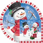 Candy Cane Snowman Party Supplies