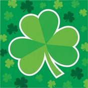 Clover St. Patricks Day Luncheon Napkins 192 ct