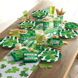 Clover St. Patricks Day Party Supplies