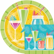 Colorful Cocktails Party Supplies