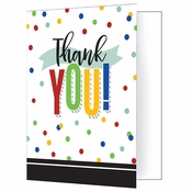 Colorful Graduation Thank You Notes 48 ct