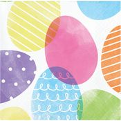 Dyed Easter Eggs Beverage Napkins 192 ct