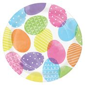 Dyed Easter Eggs Dinner Plates 96 ct