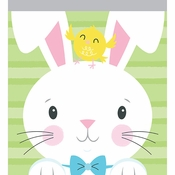 Easter Bunny and Chick Zippered Sandwich Bags 120 ct