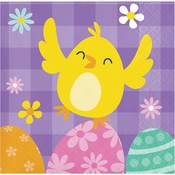 Easter Chick Beverage Napkins 192 ct