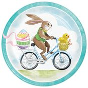 Easter Delivery Dinner Plates 96 ct