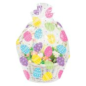 Easter Eggs Cello Basket Bags 12 ct