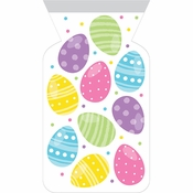 Easter Eggs Zippered Favor Bags 144 ct