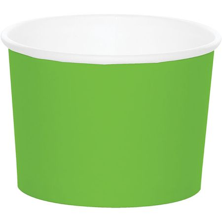 Fresh Lime Green Treat Cups 96 ct