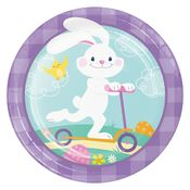 Funny Bunny Easter Dessert Plates 96 ct