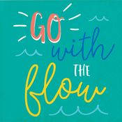 Go With the Flow Beverage Napkins 192 ct