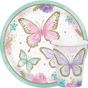 Golden Butterfly Party Supplies