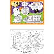 Halloween Activity Placemats 96 ct