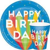 Happy Birthday Bash Party Supplies