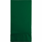 Hunter Green 3 Ply Guest Towels 192 ct