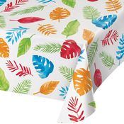 Jungle Leaves Paper Tablecloths 6 ct