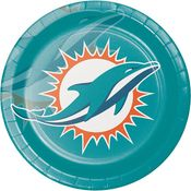 Miami Dolphins Dinner Plates