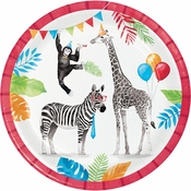 Party Animals Dinner Plates 96 ct