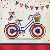 Patriotic Parade Luncheon Napkins 192 ct