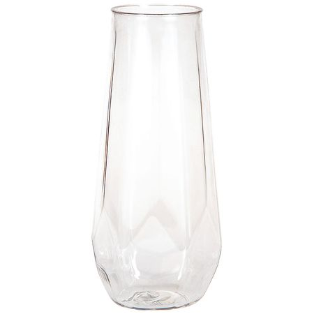 Plastic Fractal Stemless Champagne Tumblers 24 ct
