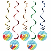 Rainbow Grad Dizzy Danglers 60 ct