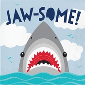 Shark Party Jaw-Some Luncheon Napkins 192 ct