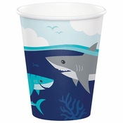 Shark Party Paper Cups 96 ct