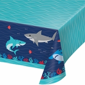 Shark Party Paper Tablecloths 6 ct