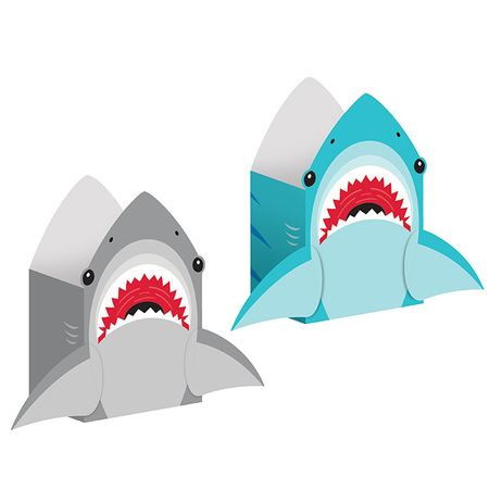 Shark Party Paper Treat Bags 96 ct