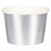 Silver Foil Treat Cups 96 ct