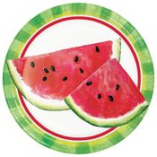 Slice of Watermelon Dessert Plates 96 ct