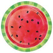 Slice of Watermelon Dinner Plates 96 ct
