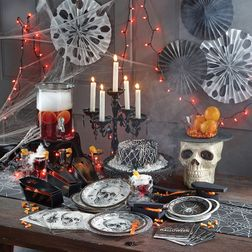 Spider and Skull Party Supplies