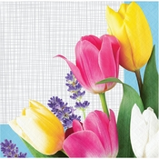 Spring Bouquet Beverage Napkins 192 ct
